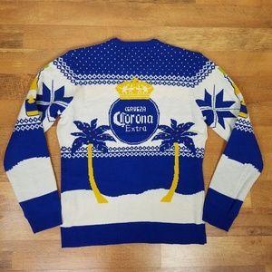 Corona Ugly Christmas Sweater Size Large NWT